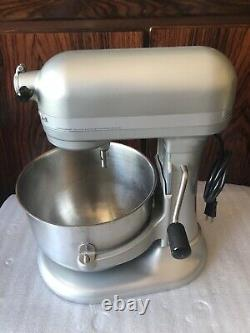 0Kitchenaid 6qt heavy duty mixer With 6.9L bowl 600w Almond metallic