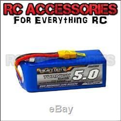 11.1V 5000mAh LiPo Heavy Duty TURNIGY Battery 3S Cell RC Car 60C-120C UK