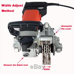 110V Wall Chaser Concrete Saw Electric Groove Cutting Machine Slotter HeavyDuty