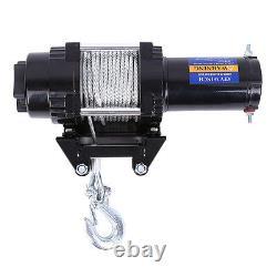 12V Electric Winch 4000lb Heavy Duty ATV Trailer Boat Recovery Remote Switch