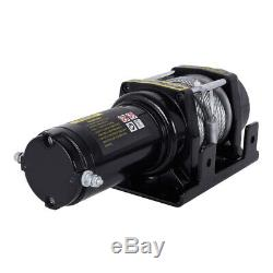 12V Electric Winch/4500lb Steel Cable/Heavy Duty/Boat/wireless remote control/UK