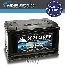 12v Sealed Xplorer 120 Ah Heavy Duty Marine Battery