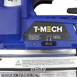 2 in 1 Nail & Staple Gun Cordless Electric Heavy Duty Stapler Nailer Tacker 18V