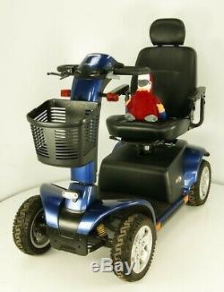 2016 Pride Pursuit LJ719 Large Electric Mobility Scooter 8mph Blue