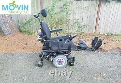 2018 Quantum Edge Heavy Duty HD Power Wheelchair Power Tilt & Legs 450lbs