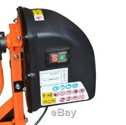 220W Heavy Duty 63L Portable Electric Concrete Cement Mixer Mortar Machine
