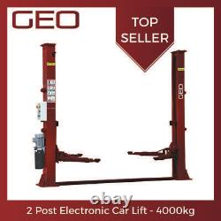 4 Ton ELECTRIC Lock 2 Post Lift (UK CE Certified) 1/3Phz UK Delivery INC VAT