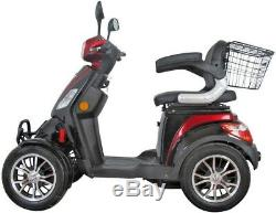 4 Wheeled 60V 100AH 500W Electric Mobility Scooter FREE DELIVERY Green Power
