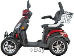 4 Wheeled 60V 100AH 800W Electric Mobility Scooter FREE DELIVERY Green Power