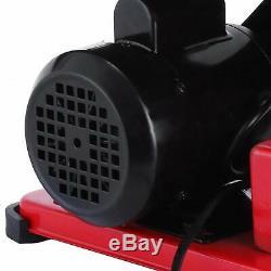 400w Heavy Duty 90° Electric Bench Sander Grinder Belt & Disc Sanding Machine