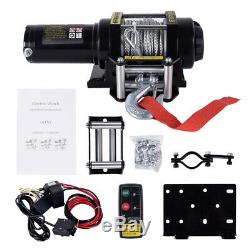 4500lb Electric Winch Recovery Heavy Duty 12V Wireless Remote Control Rope Truck