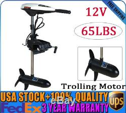 45lbs Heavy Duty Electric Trolling Motor Engine Outboard motor Boat Engine p