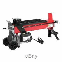 5 Ton Heavy Duty Electric Log Splitter Hydraulic Wood Cutter With Stand Duoblade