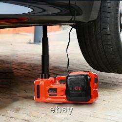 5000KG Automatic Electric Hydraulic Floor-Jack Van Car Lift45cm Heavy Duty150psi