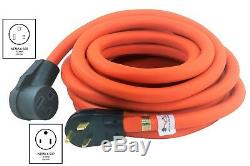 50ft Electrical Welder Extension Cord NEMA 6-50P to NEMA 6-50R by AC WORKS