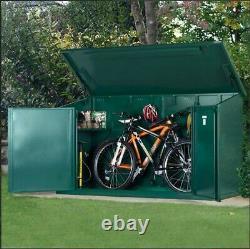 7'7 x 3'4 Electric Bike Storage Shed Garden DIY Utility Store 2.3m x 1.05m Green