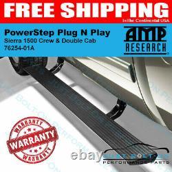 AMP PowerStep Plug N Play 2019-2021 Sierra 1500 CC / DC 2020-2021 2500 3500 HD