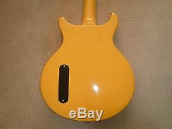 ANTORIA Guitar New Yorker Les Paul Junior Yellow With Heavy Duty Carrry Bag