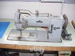 Adler 067 63 HEAVY DUTY INDUSTRIAL LOCKSTITCH NEEDLE FEED SEWING MACHINE