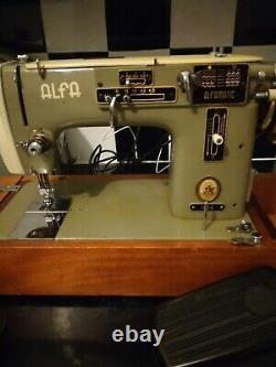 Alfa sewing machine 103.3 Home Heavy Duty Industrial zigzag/embroidery
