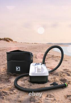 BRAVO GE 20 Electric Air Pump Recharge Batt 22psi Boat Rib Inflatable SUP SIB