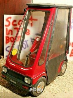 Batricar Alpha 2000 Cabin Car Mobility Scooter Excellent Basis For Restoration