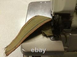 Brother 3-5 thread Overlocker HEAVY DUTY Model with locked chain stitch RARE