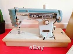 Brother 661 Heavy Duty Electric Sewing Machine Upholstery Leather + Foot Pedal