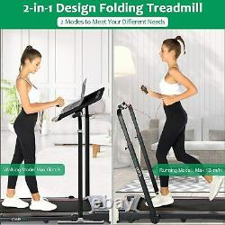 CAROMA Heavy Duty Electric Treadmill Fitness Running Foldable Exercise Machine