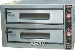 COBOL 12 X 13 inch DOUBLE DECK ELECTRIC PIZZA OVEN HEAVY DUTY