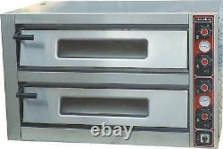 COBOL 8 X 13 inch DOUBLE DECK ELECTRIC PIZZA OVEN HEAVY DUTY