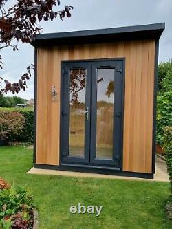 Cedar Garden Office / Office Cube 2.0m x 2.4m Full Electrics + Insulation