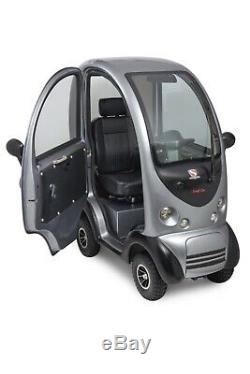 Comfi Car Fully Enclosed Cabin All Weather Mobility Scooter. 8 mph Class 3