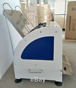 Commercial 110v Heavy Duty Automatic Electric Bread Slicer Machine 0.47
