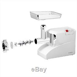 Commercial Electric Meat Grinder 3 Speeds Stainless Steel Heavy Duty 2000W 2.6H