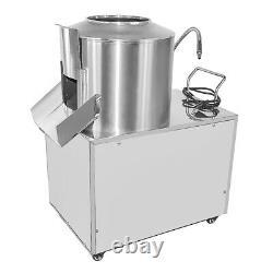Commercial Electric Potato Rumbler Peeler Machine Peeling 15-20Kg Heavy Duty EU