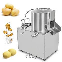 Commercial Electric Potato Rumbler Peeler Machine Peeling 15-20Kg Heavy Duty UK
