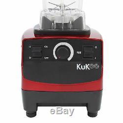 Commercial Food Blender Heavy Duty Kitchen Mixer Milkshake Smoothie 2200W