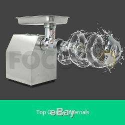 Commercial Mincer Butchers Meat Grinder Quality Heavy Duty 150K Per Hour Size 12