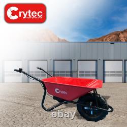 Crytec Roadrunner Heavy Duty Electric Wheelbarrow