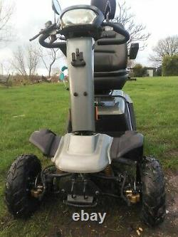 Custom built off road mobility scooter