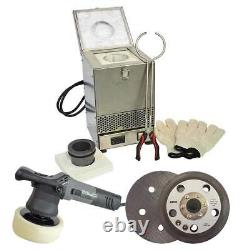DIY Casting Kit Electric Melting Furnace Heavy Duty Buffer Polisher Sanding Pad