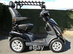DRIVE ROYALE 4 MOBILITY SCOOTER. ALL TERRAIN HEAVY DUTY 8 mph MOBILITY SCOOTER