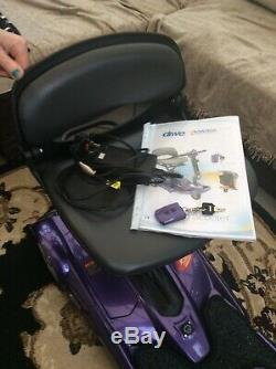 DRIVE iWHIZZ AUTO FOLDING MOBILITY SCOOTER CHEAPEST ON EBAY PRICED 4 QUICK SALE