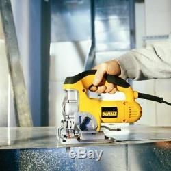 DeWalt DW331K-GB 240V Corded Heavy Duty Top Handle 701W Jigsaw Soft Start
