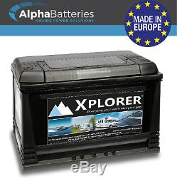 Deal Pair 2 X Xplorer 115ah Heavy Duty Leisure Battery
