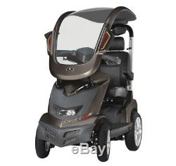 Drive Royale 4 Sport 8mph Road Mobility Scooter Road Stylish with Canopy Bronze