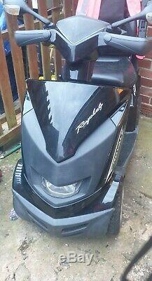 Drive Royale 4 mobility scooter black Carries up to 28 stone