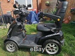 Drive royale 4 mobility scooter black