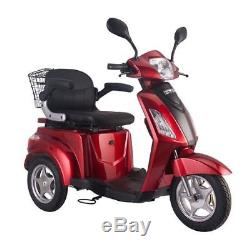 Easy Rider Electric mobility scooter Moped 8mph Road legal 3 Wheeled RED